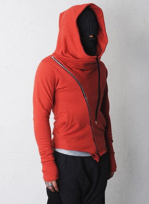Visions of the Future: Urban Apostle Asymmetric Zipup Hood Jacket Streetwear