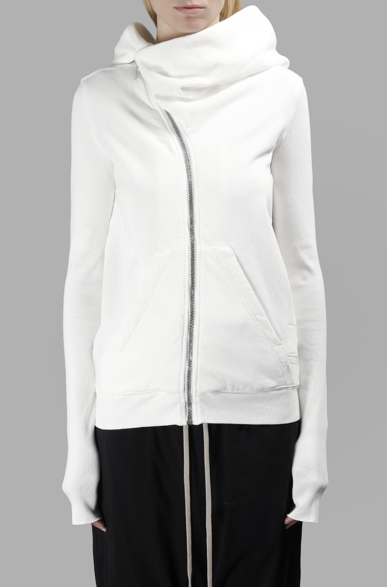 HIGH NECK ASYMMETRIC HOOD DRK SHDW WOMEN'S MOUNTAIN HOODIE