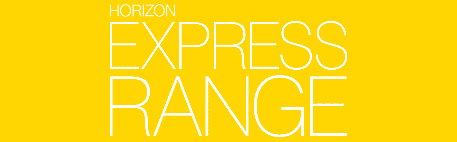 Horizon Express Range