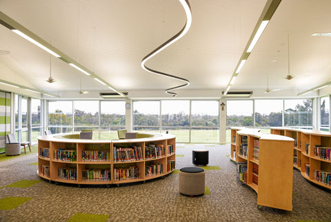 Library Furniture, 21st Century learning, modern classroom, interior design
