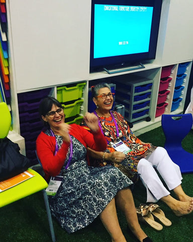 Resting pre-school teachers