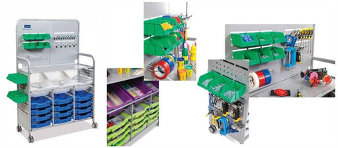 Office Line Gratnells Makerspace Trolley