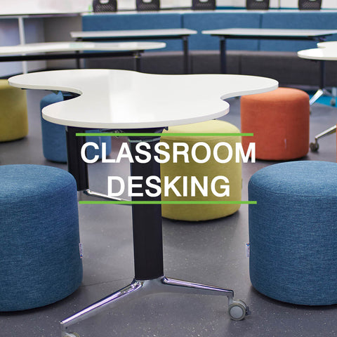 CUA panel 2 classroom desking furniture supplier WA
