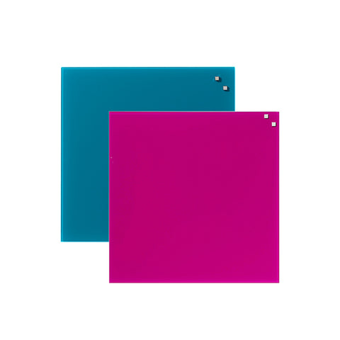 Coloured Magnetic Glassboard