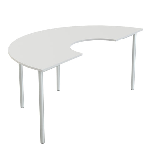 Eduflex Collaborative Half Moon Table