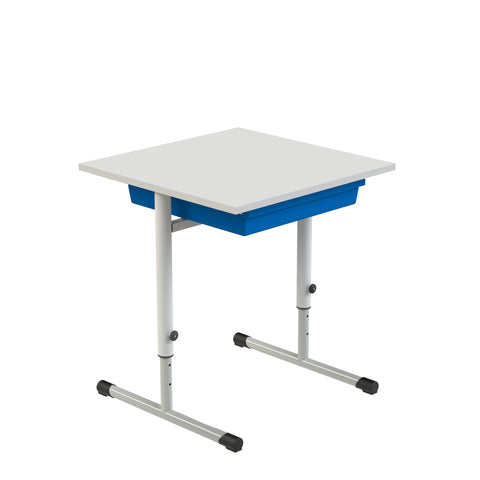 Eduflex Single Desk T Leg With Tray