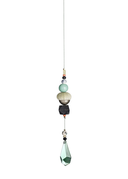Hanging sculpture with seaurchin - small