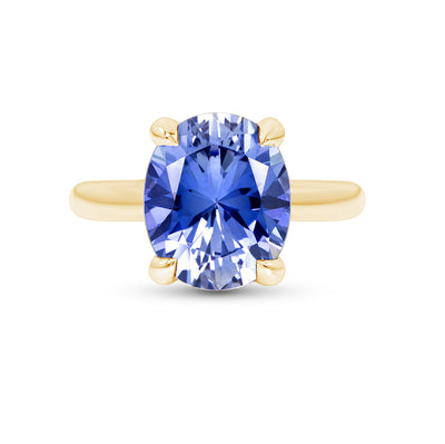 Light Blue Sapphire Bellevue Ring