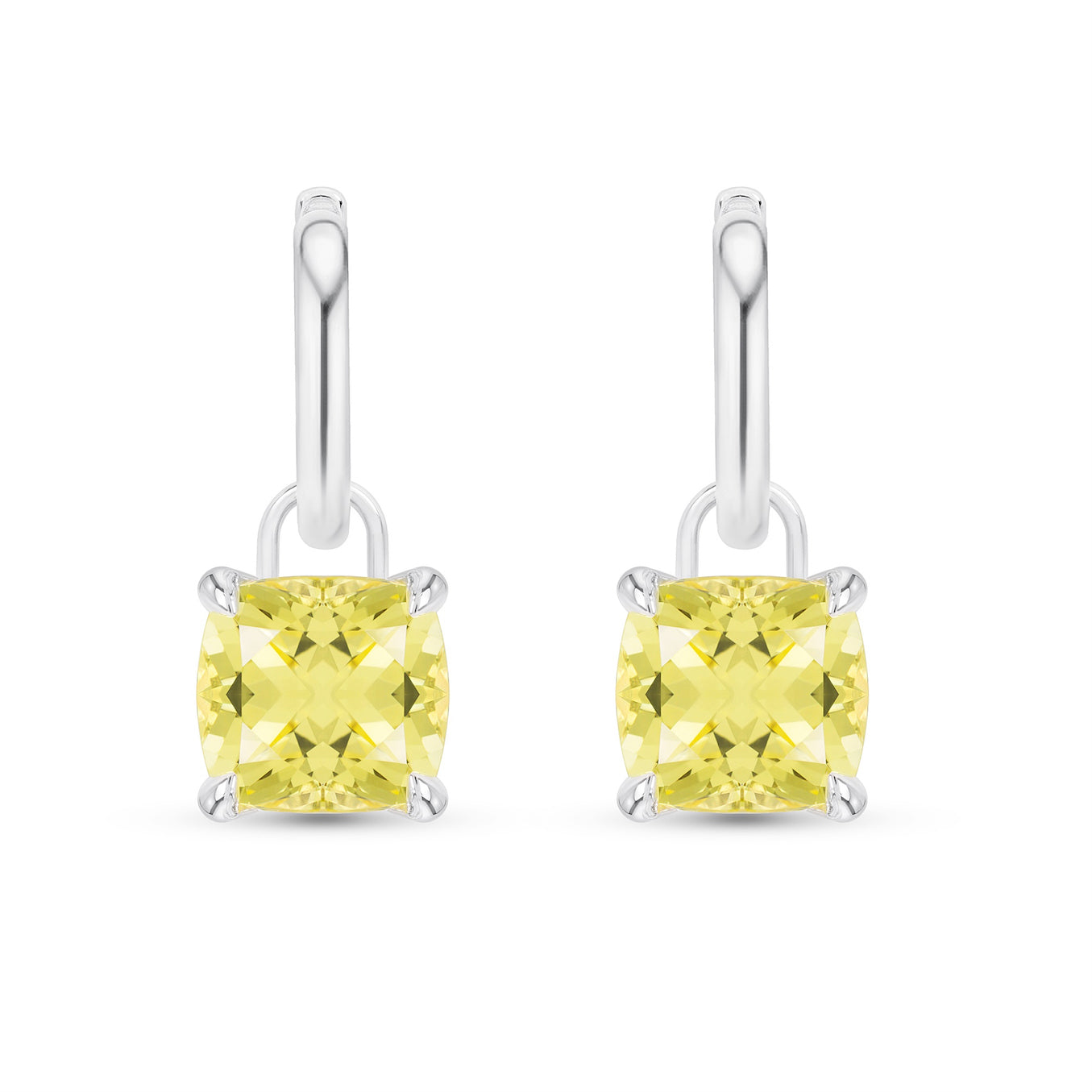 gold copy product mirages earrings yellow sapphire diamonds and in with