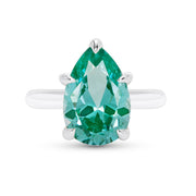 Pear Cut Paraiba Tourmaline Ring