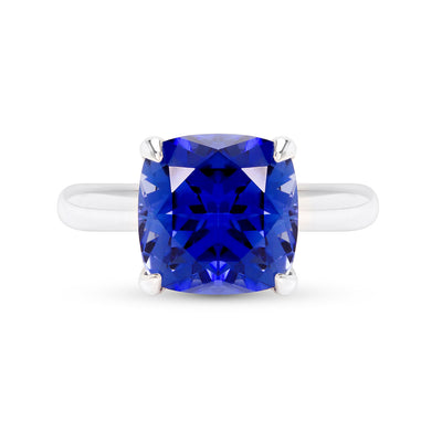 Royal Blue Sapphire Heritage Ring