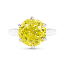 Canary Yellow Sapphire Cocktail Ring