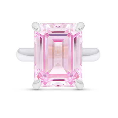 Light Pink Sapphire Empire Ring