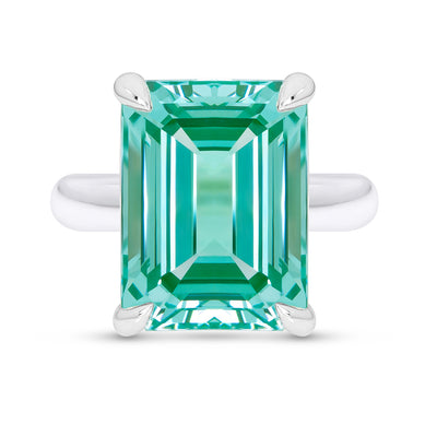 Paraiba Spinel Empire Ring