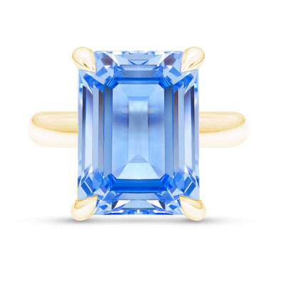Blue Spinel Empire Ring
