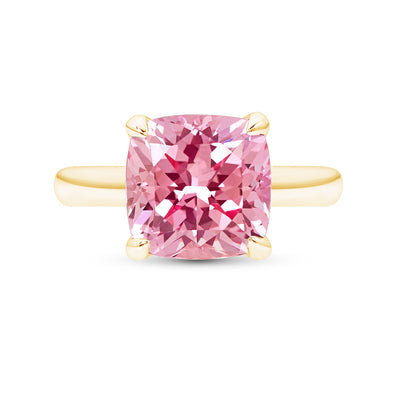 Pink Sapphire Heritage Ring