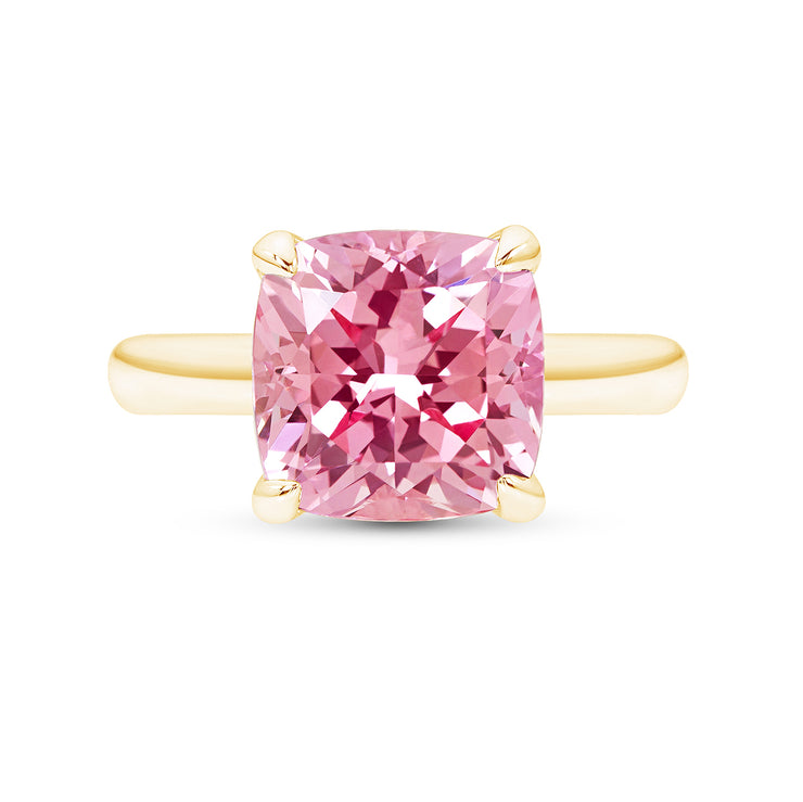 Peach Sapphire Heritage Ring