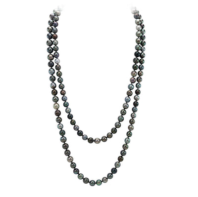 Tahitian Pearl Triple Classique Necklace