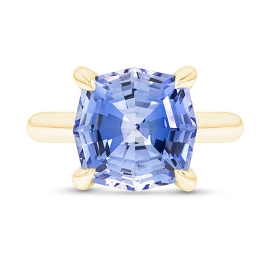 Light Blue Sapphire Regency Ring
