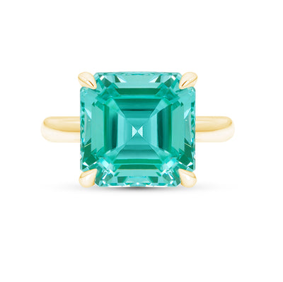 Paraiba Spinel Riviera Ring