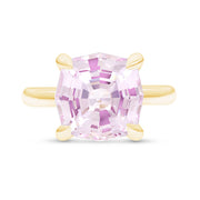 Light Pink Sapphire Regency Ring