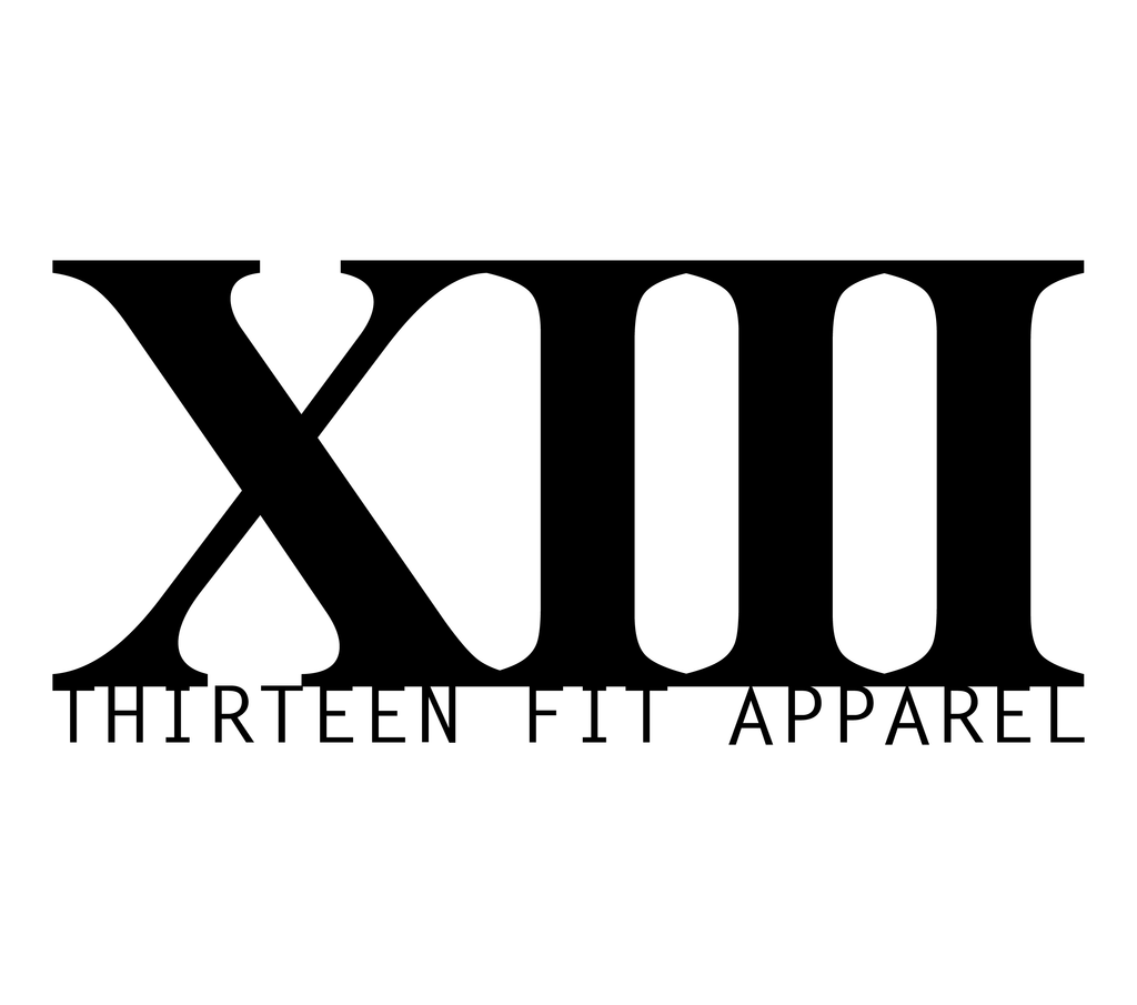 THE THIRTEEN OF THIRTEEN FIT APPAREL