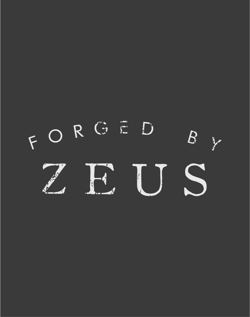 PRE-ORDER: FORGED BY ZEUS Pull-Over Hoodie