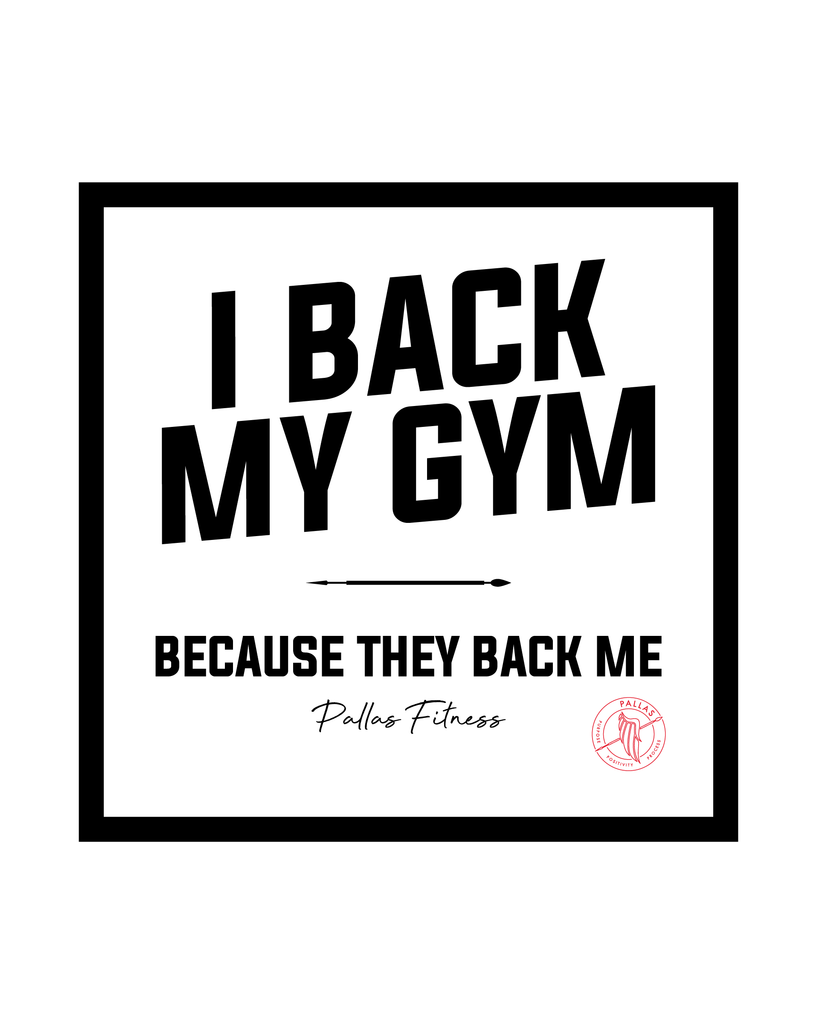 PALLAS: I Back My Gym Tee, Mint