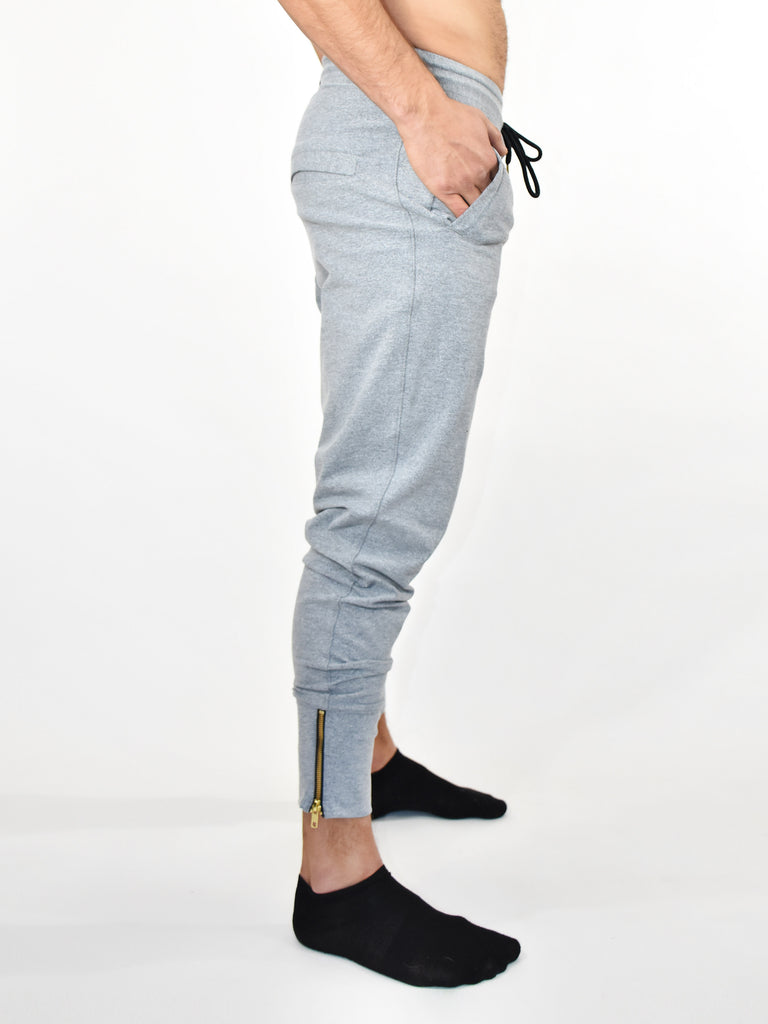 MENS HEATHER GREY JOGGER