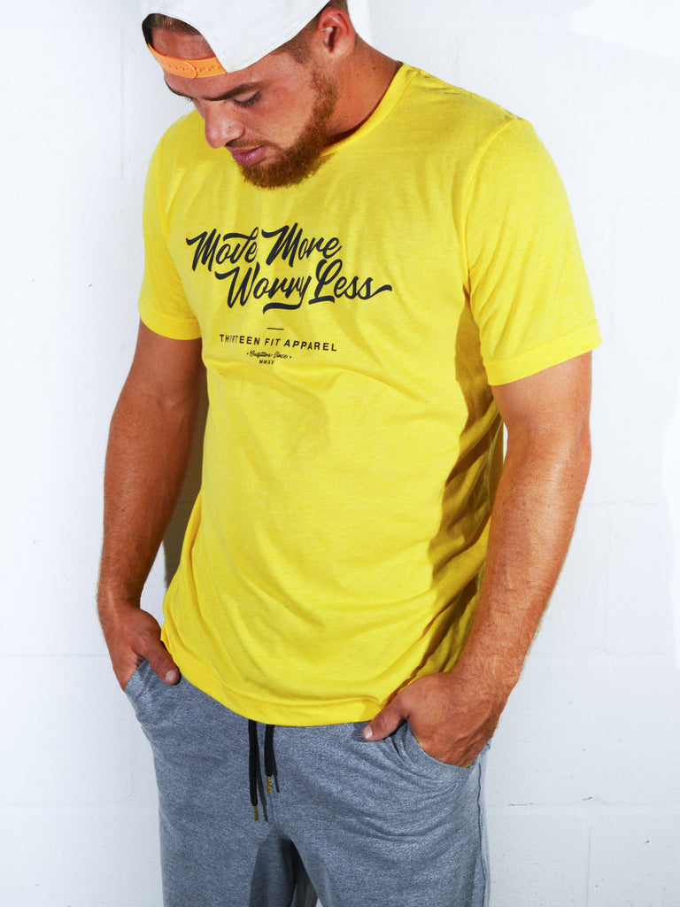 LIGHT TEE, YELLOW
