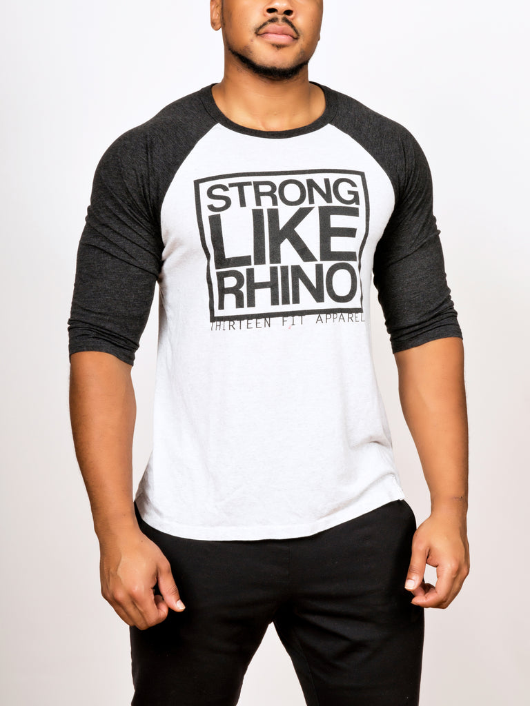 STRONG LIKE RHINO UNISEX BASEBALL