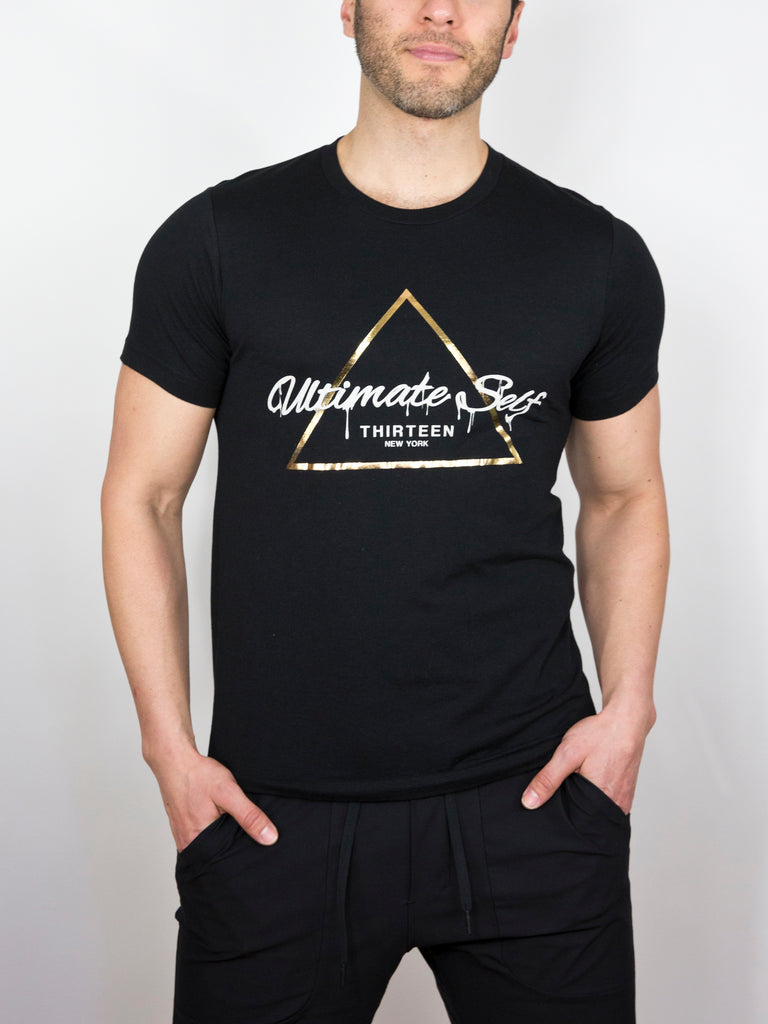 TRIAD TEE, BLACK