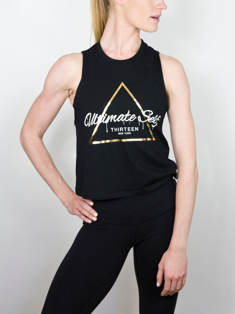 TRIAD LADIES CROP RACERBACK