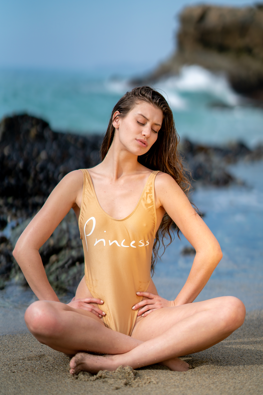 Gold Princess Swimsuit