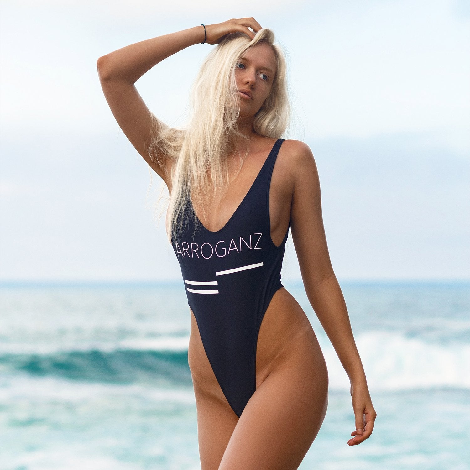 ARROGANZ One Piece Swimsuit - black