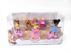 Fancy Nancy Figurines 5 Pack Set includes Fancy Nancy, Bree, Grace, Marabel BRAND NEW 96 Pcs  $145