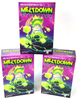 PlayMonster Meltdown Game -- Pile It On Until There's A...Meltdown! All Brand New! 45 PCS  $45 + Shipping