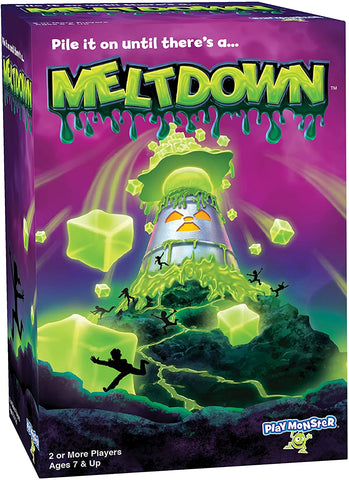 PlayMonster Meltdown Game -- Pile It On Until There's A...Meltdown!  ALL BRAND NEW 200 PCS  $400