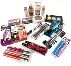300 PC Lot of COVERGIRL Cosmetics, Vitalist Go Glow, Foundation, Mascara, Palettes & More, Only $435.00