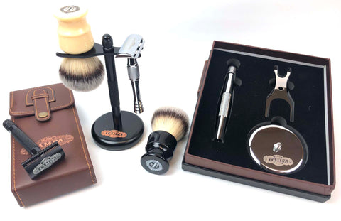 TSC High Quality Precision Shaving Kits, Chrome Brush & Razor Stands, Brand NEW 448 Pcs 12% of Retail Only $1500 + Shipping