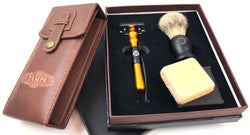 TSC High Quality Precision Shaving Kits, Chrome Brush & Razor Stands, Brand NEW 449 Pcs 12% of Retail Only $2834.80