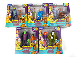Pallet of Assorted Scooby-Doo! Figurine Toys (50 Year Anniversary) ALL BRAND NEW in MASTER CASES  Walmart Exclusive  420 PCS  $1575