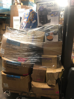 Manifested Pallet of General Merchandise, Clothing, Small Kitchen Appliances, Home Goods, Medical Equipment & More ALL BRAND NEW! 302 PCS  $700 + Shipping