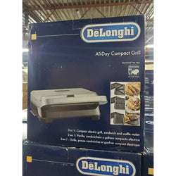 Delonghi Livenza Dishwasher Safe Compact 3-in-1 Grill Griddle & Waffle Maker Brand new in Box 72 Units 1,944.00