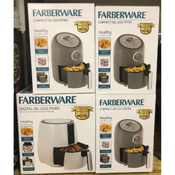 Faberware Air Fryers, Gotham Grills, Hamilton Beach Waffle Makers & More, NEW 396 Pcs   Only $1270.00