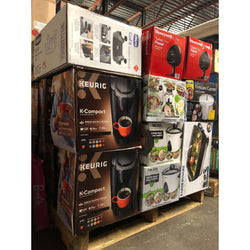 Small Appliances & General Merchandise, Brand New with Box Damage, 136 Pcs  Only $1750.00