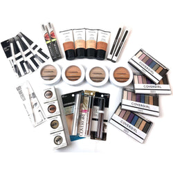 COVERGIRL Cosmetics Lot, Vitalist Go Glow, Foundation, Mascara, Palettes & More  950 pcs   Only $1,140.00