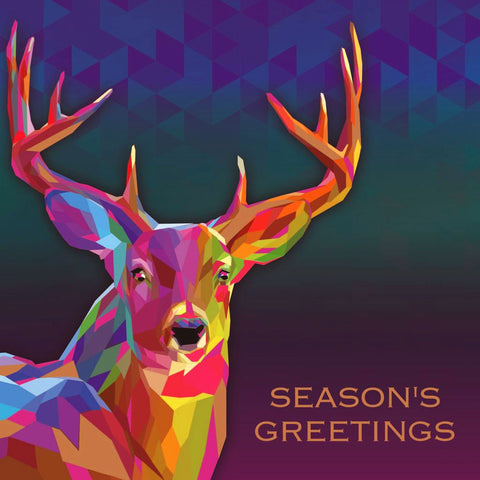 Bright Stag charity Christmas cards