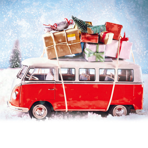 Camper Van Charity Christmas Cards