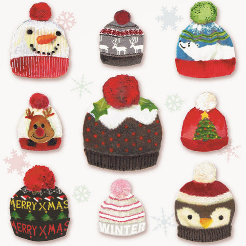 Christmas Hats Charity Christmas Cards